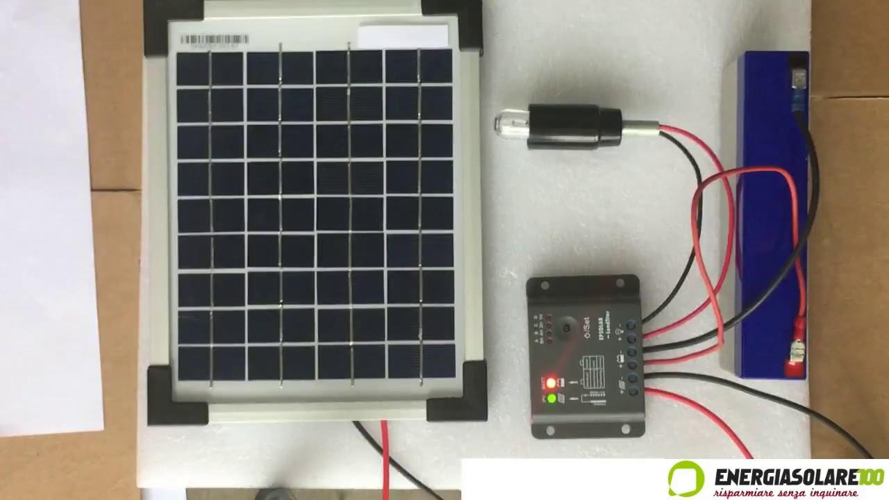 Come funziona un kit solare con crepuscolare per illuminazione