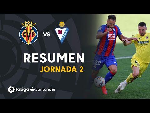 Resumen de Villarreal CF vs SD Eibar (2-1)