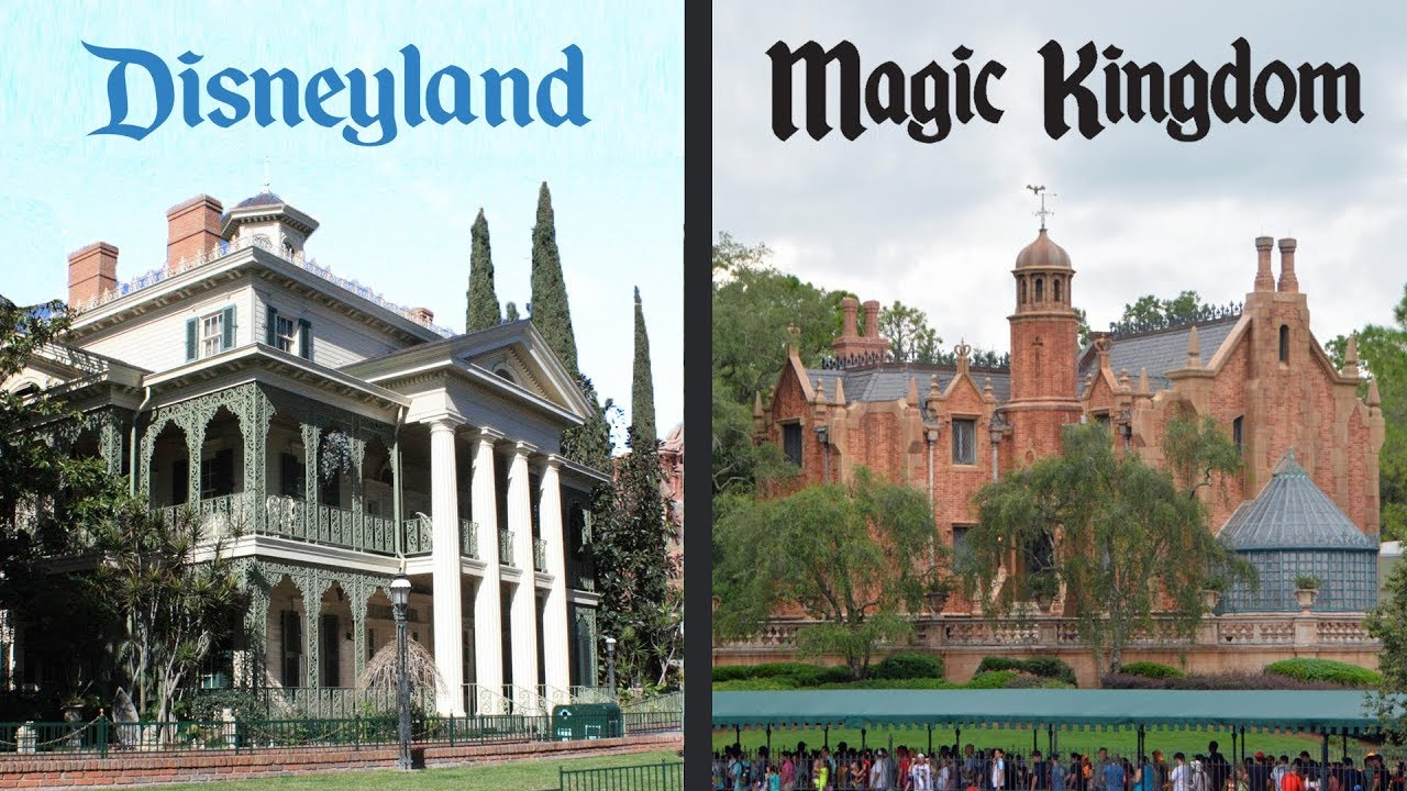 The Differences Between: Disney's Haunted Mansion