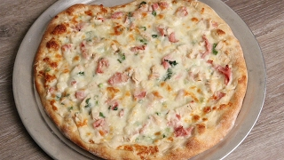 Chicken Cordon Bleu Pizza Recipe