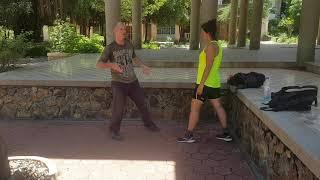 Siem Reap Martial arts. Kung Fu basics level 3 counter grappling and partner training.
