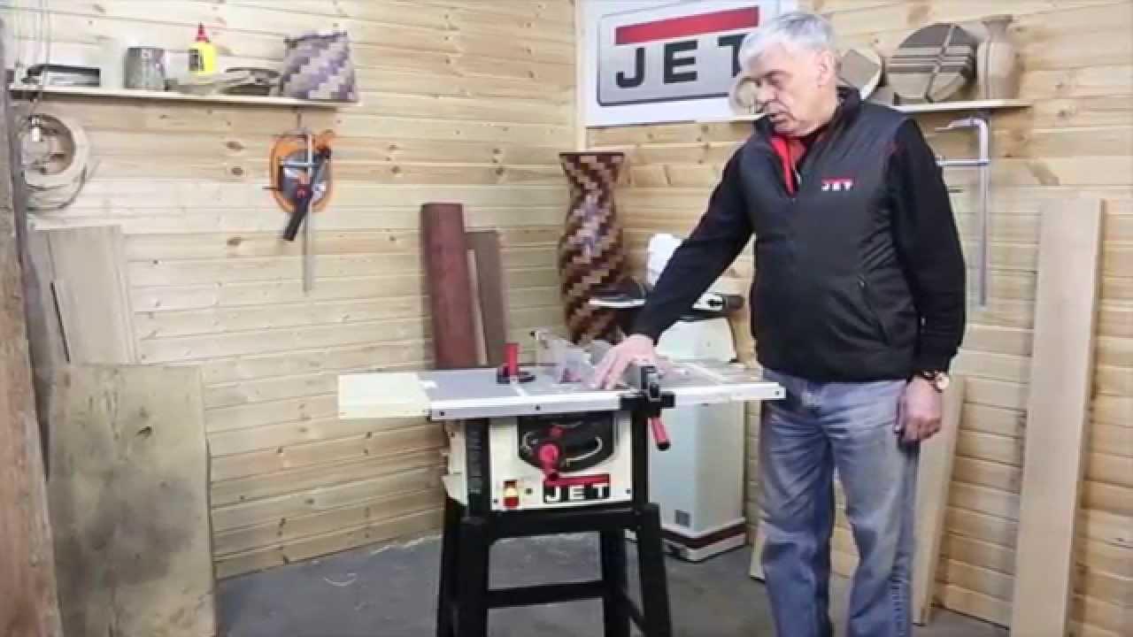 Столярка. Доработка пилы JET - JBTS -10 - YouTube