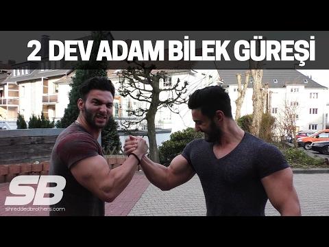 EFSANE BİLEK GÜREŞİ CHALLANGE YAPTIK!   Shredded Brothers