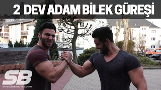 EFSANE BİLEK GÜREŞİ CHALLANGE YAPTIK! | Shredded Brothers
