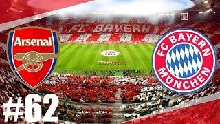 FIFA 17 | Arsenal-Bayern Munchen l Odveta Semifinále-Liga Mistrů UEFA | PART 62 | XBOX ONE | CZ