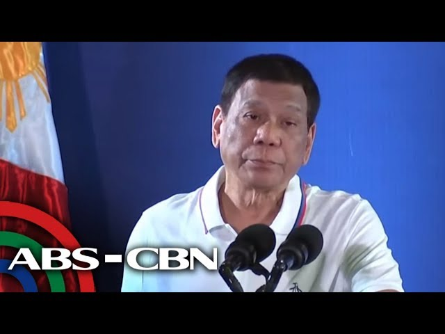 Pres. Duterte to US - Fire the first shot | ANC