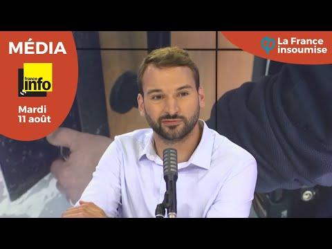UGO BERNALICIS INVITÉ POLITIQUE DE FRANCE INFO