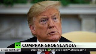 Trump le quiere comprar Groenlandia a Dinamarca