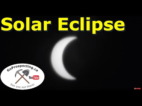Solar Eclipse Aug 21 2017 Calgary Alberta Canada