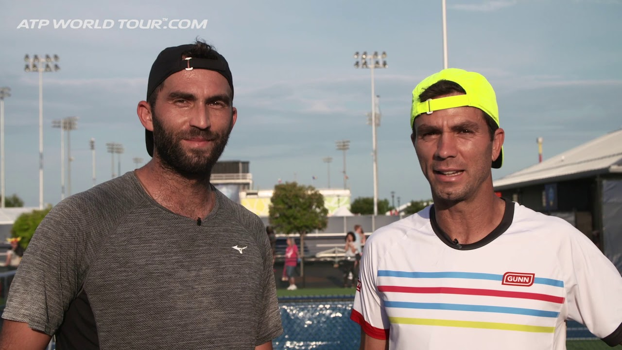 Doubles Drills With Tecau & Rojer