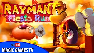 Реймен игра для детей | RAYMAN FIESTA RUN game for kids (iPad Gameplay Video)