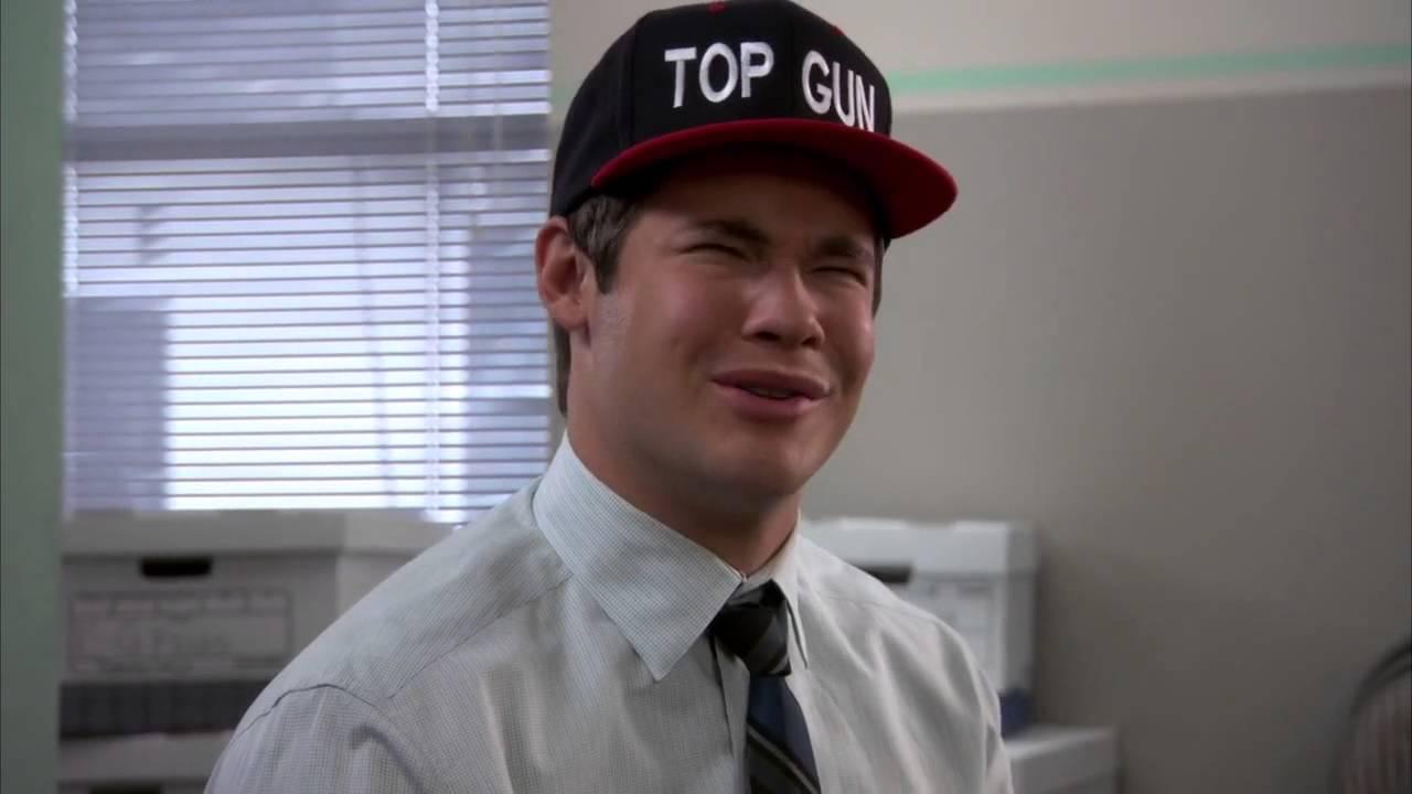 Top Gun Workaholics Top Gun Hat Adam DeMam...