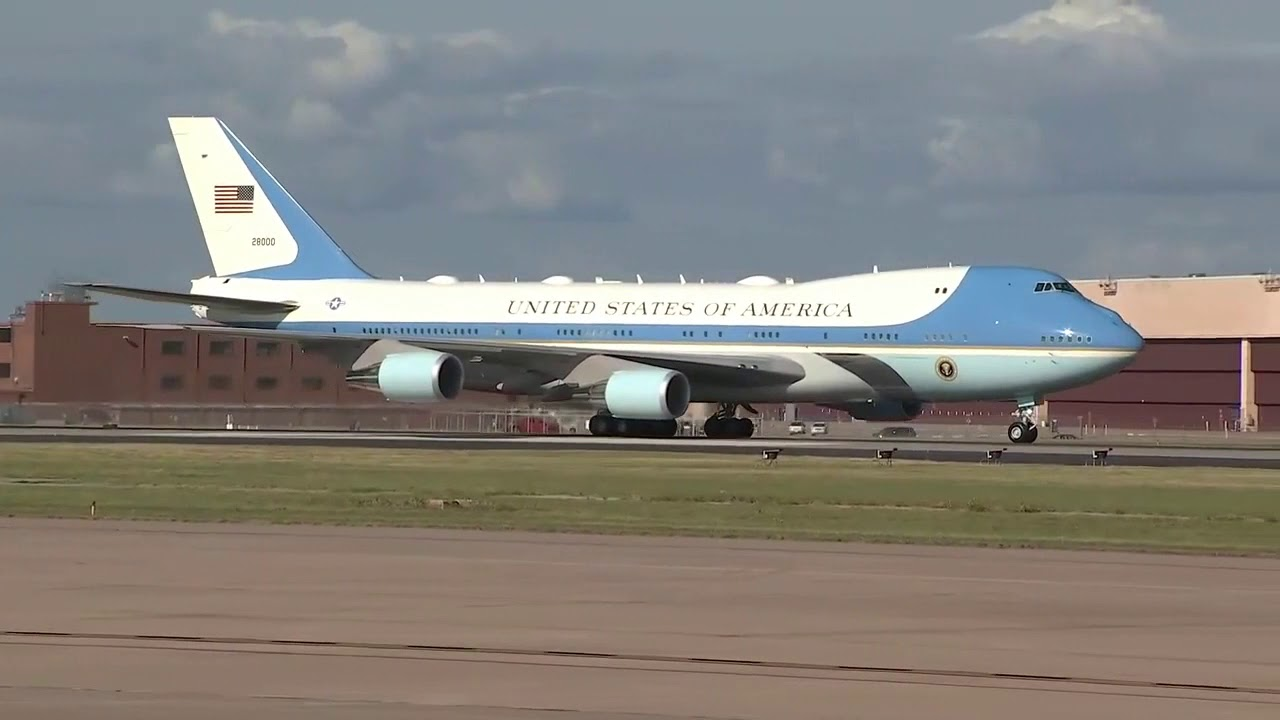 Air Force One Landing Tulsa Oklahoma 2020 Details About The Plane Youtube