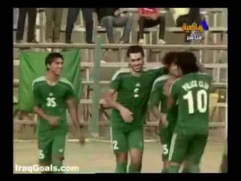 اجمل 10 اهداف سجلها نادي الشرطة في الدوري العراقي (2009-10) Al Shorta Top 10 Goals of Iraqi League