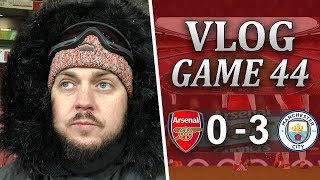 ARSENAL 0 v 3 MAN CITY - ABSOLUTE DISGRACE - MATCHDAY VLOG