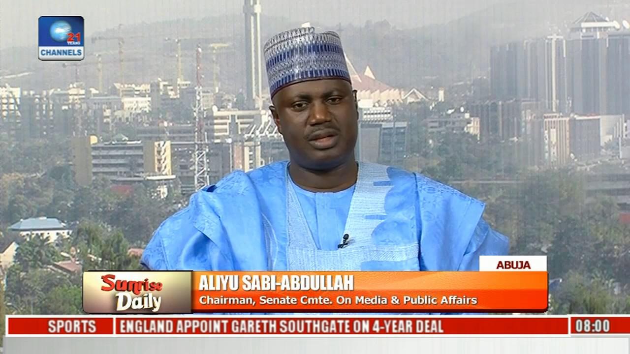 Data Tariff Hike: Senate Acted In The Interest Of Nigerians - Aliyu Sabi Abdullah