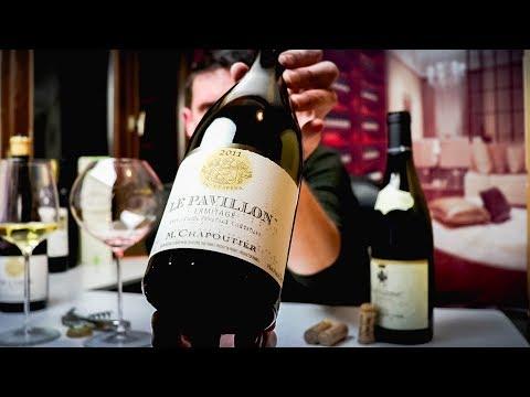 M. Chapoutier Hermitage Le Pavillon | Rhône Syrah Wine Review - click image for video
