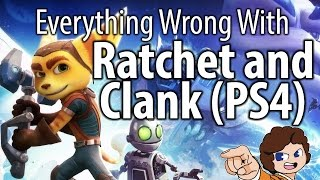 Everything Wrong With Ratchet and Clank (PS4) - valeforXD