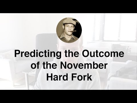 Predicting the Outcome of the November Bitcoin Fork