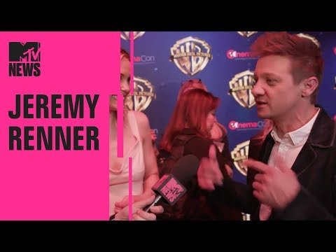 Jeremy Renner Broke Both His Arms During Filming  MTV