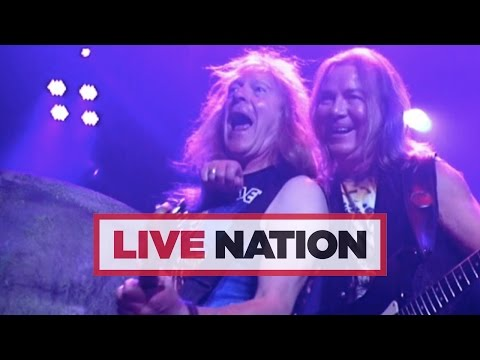 Iron Maiden: The Book Of Souls World Tour   Live Nation UK