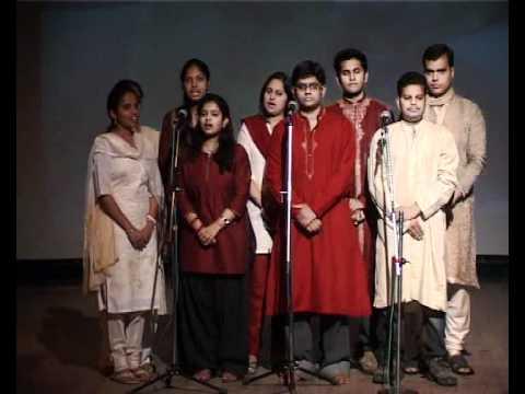 Accord's 21st Foundation Day - Hindi Group Song