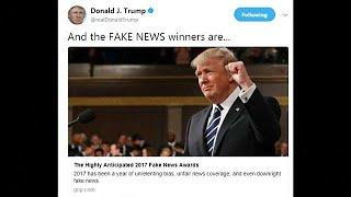 """تعرف على قائمة ترامب للفائزين بجوائز """"الأخبار المزيفة"""""""