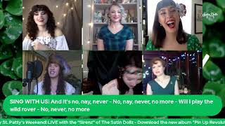 SATIN DOLLZ LIVE STREAM: Sirenz of St. Patrick's Day March 13, 2021