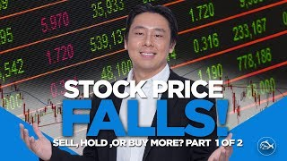 Stock Price Falls! Sell, Hold Or Buy More? Part 1 of 2