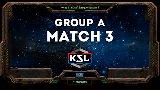 [KSL 4] Round of 16 | Group A | Losers Match | Mind (T) vs. Stork (P)