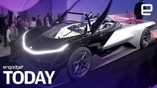 Faraday Future finally gets its EV production plans | Engadget Today