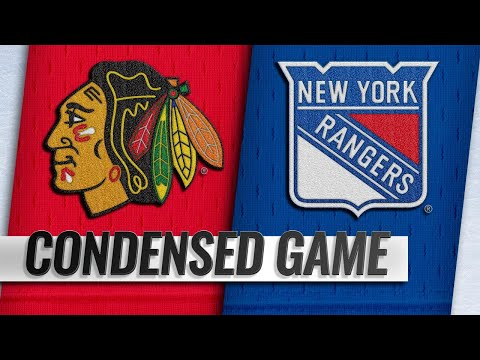 01/17/19 Condensed Game: Blackhawks @ Rangers