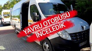 YAVRU OTOBÜS | RENAULT MASTER İNCELEMESİ