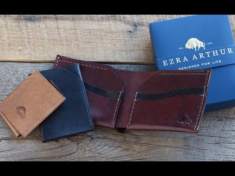 What's in this wallet? Not a stitch extra.