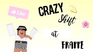 Crazy Frappe Shift | Senior Barista POV | ROBLOX | Axliic