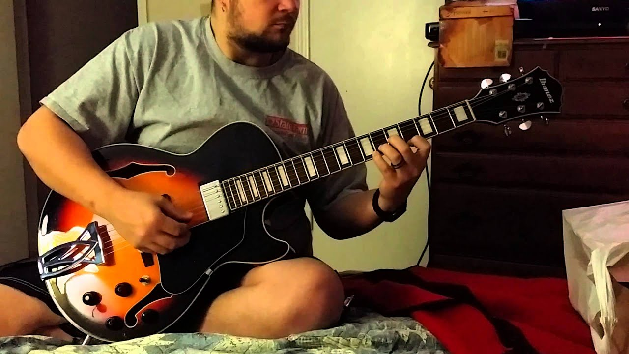 ibanez artcore ag75 review youtube