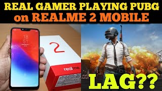 Realme 2 PUBG Mobile: Professional Gamer Playing PUBG Mobile in RealMe 2 ; Real Life Review