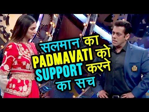 TRUTH Behind Salman Khan Promoting Padmavati With Deepika Padukone In Bigg Boss 11