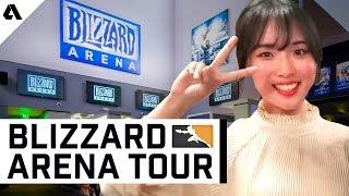 Overwatch League Blizzard Arena Guided Tour ft Hwimori & Adam | Akshon Esports