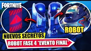 L'ÉVÉNEMENT FINAL ARRIVE! 'NEW SECRETS' ROBOT PHASE 4 'FILTRATE' FORTNITE BATTLE ROYALE