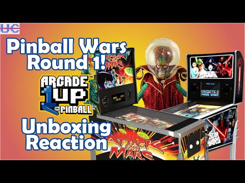 Arcade1up Pinball's Been Unboxed ..And It Looks Hot! from Unqualified Critics