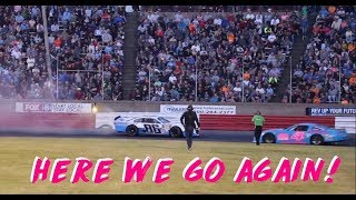 Bowman Gray - 40 Lap Sportsman Race - 4/22/2018 **Dylan Ward Bulldozer**