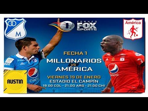 Millonarios Esta Listo Para La Temporada 2018! America vs Millonarios [Noticias Millos] Austin