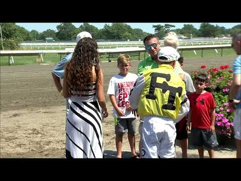 video thumbnail for MONMOUTH PARK 8-4-19 RACE 4