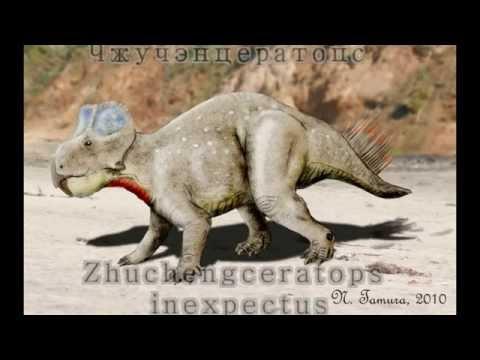 Чжучэнцератопс  Zhuchengceratops inexpectus