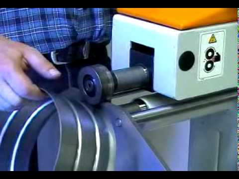 Swaging Machine Ras 12 35 Mpg Youtube