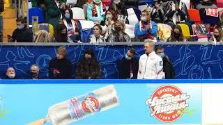 Воронов и Траньков катают вместе со своими учениками Тарасовой Морозовым