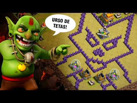 TOP 10 LAYOUTS TROLL da WARTROLL 4 (Clan 01) - CLASH OF CLANS