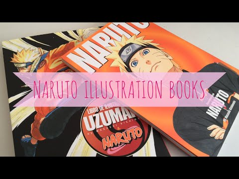 NARUTO ILLUSTRATION BOOKS VIEW - ARTBOOK 1 and 2