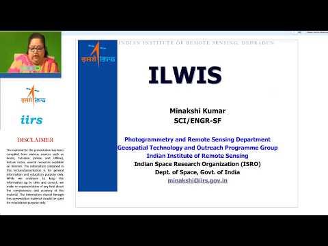 07 Sep 2017_Demonstration Image Processing _ILWIS Handson_Mrs Minakshi Kumar